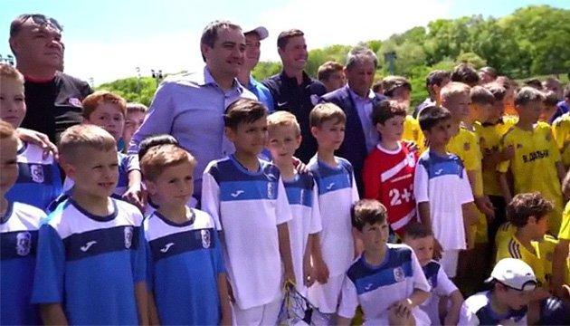 Андрей Павелко посетил Музей футбола в Одессе