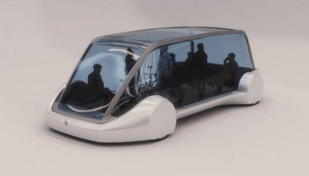 Илон Маск показал беспилотный електробус для подземных тоннелей