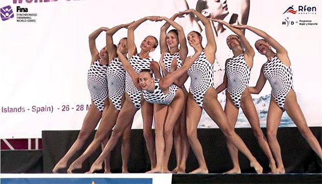 Украинские синхронистки завоевали 5 наград Мировой серии