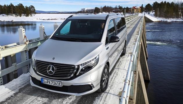 Photo of Mercedes-Benz представил свой электрический минивэн