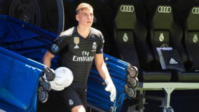 Photo of Лунин получил в «Реале» 13-й номер