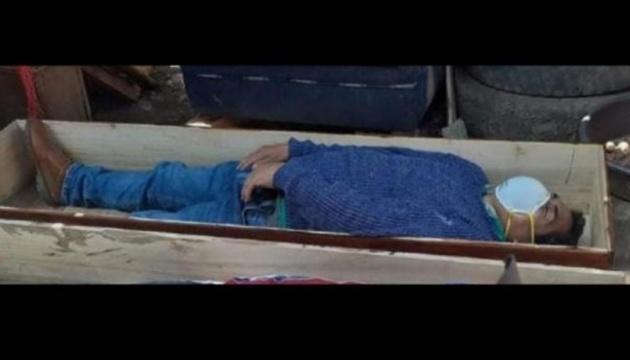 Photo of В Перу мэр спрятался в гробу, чтобы не арестовали за нарушение карантина