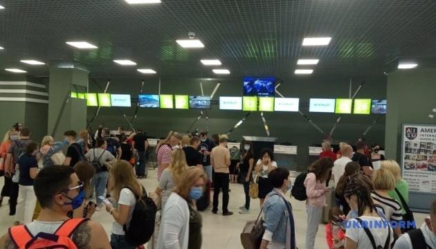 Photo of Из аэропорта «Киев» вылетел первый чартерный рейс