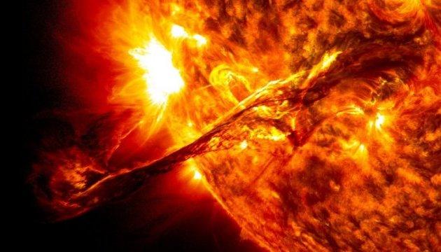 Photo of В воскресенье произошел крупнейший за последние три года солнечная вспышка