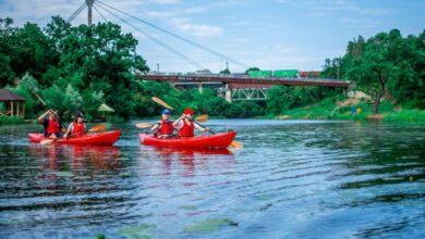 Photo of В Коростене туристам предлагают сплав на каяках по реке Уж