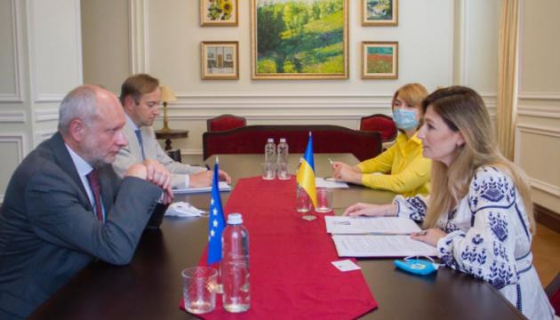 Photo of Джапарова и представитель ЕС обсудили подготовку к саммиту Украина-ЕС и ситуацию в Крыму