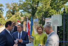 Photo of Стефанишин приняла участие в открытии в Варшаве выставки относительно союза Петлюры с Пилсудским