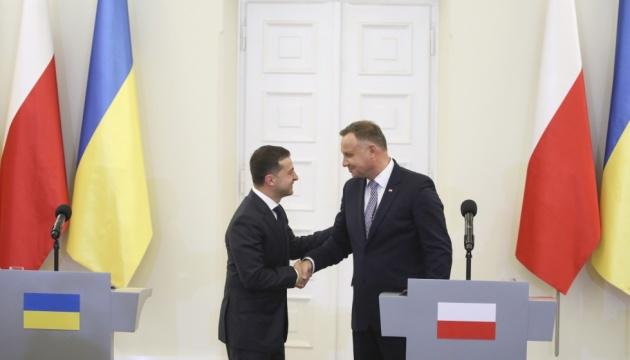 Photo of Зеленский поговорил с Дудой о Донбассе и «Нормандии»