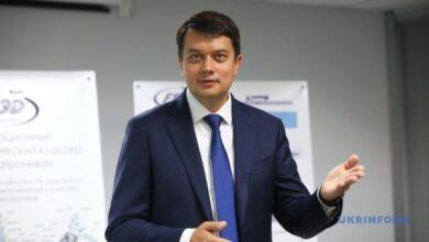 Photo of Разумков говорит, что раз в неделю встречается с Зеленским