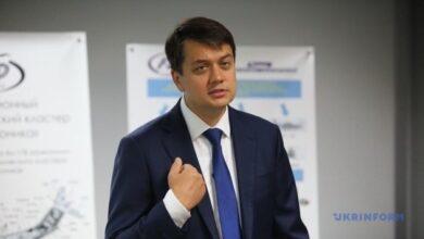 Photo of Разумков не поддержал бы законопроект о медиа, если бы голосование было сегодня