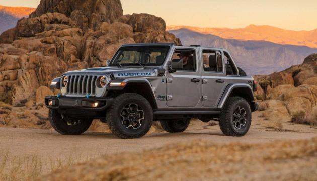 Photo of Jeep «вытеснил» из гибридного внедорожника Wrangler 350 «лошадей»