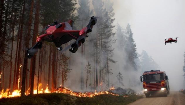Photo of В США представили гибридный дрон-пожарный