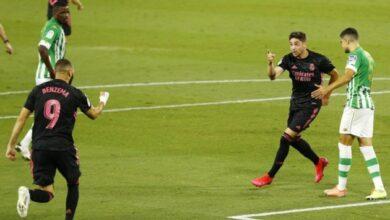 Photo of Ла Лига: «Реал» обыграл «Бетис»