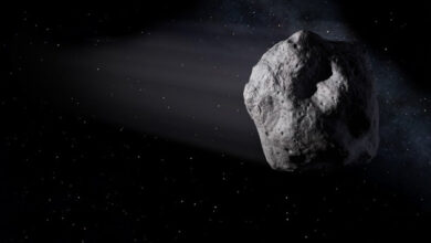 Photo of NASA проводит операцию по отбору почвы на астероиде Bennu