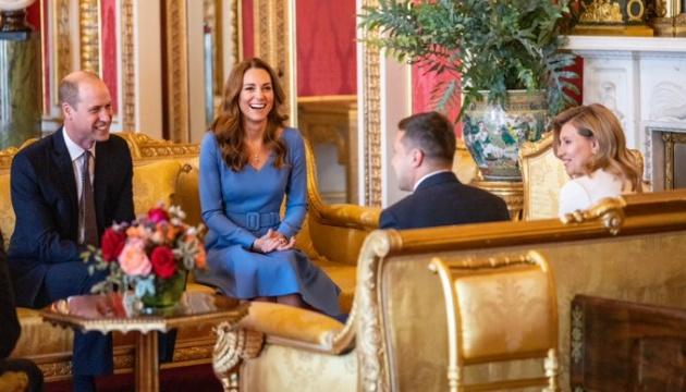 Photo of Супруги Зеленских встретилось с герцогом и герцогиней Кембриджскими