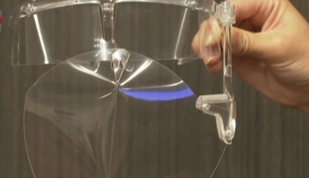 Photo of В Японии суперкомпьютер разработал новый лицевой щиток против COVID-19