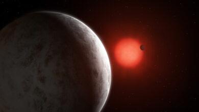 Photo of Астрономы обнаружили две экзопланеты, вращающиеся вокруг «красного карлика»