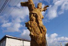 Photo of Под Полтавой 300-летний дуб превратили в скульптурную композицию