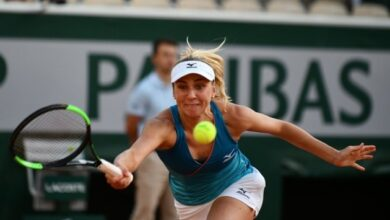 Photo of Надежда Киченок зачехлила ракетку в парном четвертьфинале турнира в Чехии