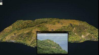 Photo of При создании 3D-модели Трахтемировского полуострова нашли оборонительные сооружения и пещеру