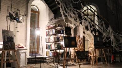 Photo of Хэллоуин-2020: Мариупольский «Башня» обросла паутиной