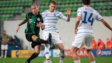 Photo of «Динамо» сыграло вничью с «Ференцварошем» в матче Лиги чемпионов УЕФА