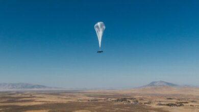 Photo of Воздушный шар Google, раздает интернет, установила рекорд в стратосфере