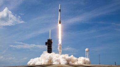 Photo of SpaceX заменила двигатели Falcon 9 перед стартом новой космической миссии