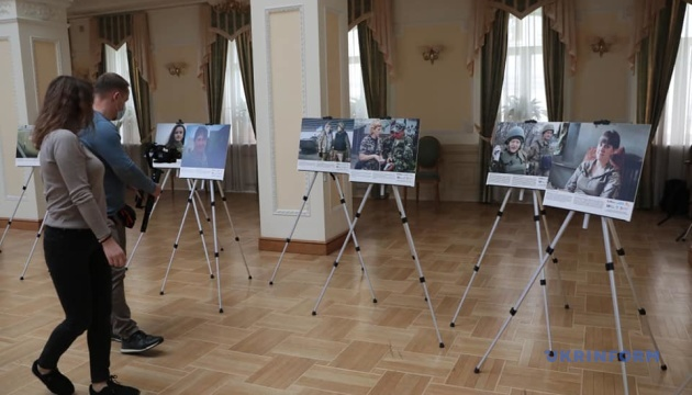 Photo of В Кабмине открылась фотовыставка «Женщины, мир и безопасность в Украине»