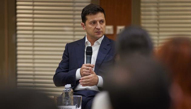 Photo of Зеленский — «Слуге народа»: вы можете вносить правки в законопроекту по КСУ