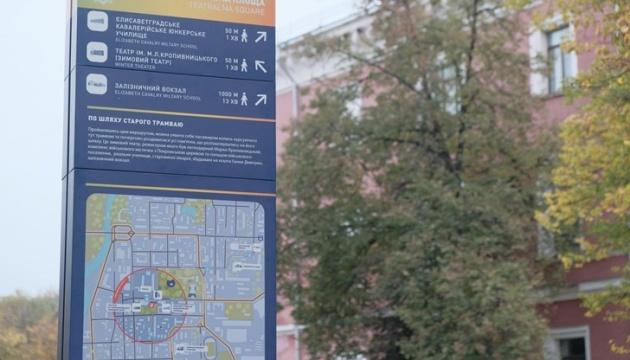 Photo of В Кропивницкому появились пилоны для туристов