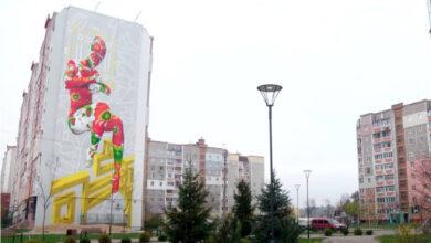 Photo of Коллекцию муралей Чернигова пополнила робота-рекордсмен