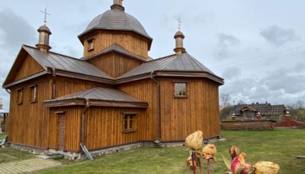 Photo of В Моринцах отреставрировали деревянный храм XVIII века