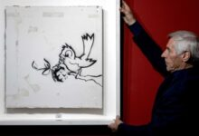 Photo of Картину Бэнкси продали на аукционе в Нидерландах за € 170 000