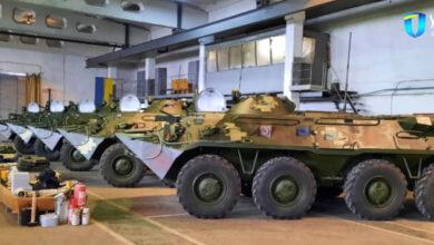 Photo of Николаевский бронетанковый передал армии обновленные БТР-80