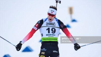 Photo of Норвежец Лагрейд выиграл стартовую гонку Кубка мира по биатлону