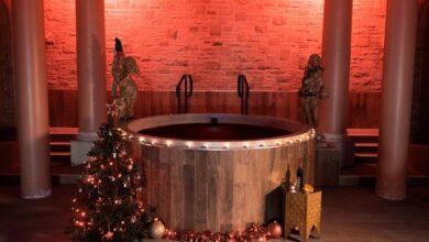 Photo of В Британии туристам предлагают расслабиться в горячей ванне с глинтвейном