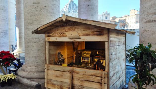 Photo of Украинский вертеп впервые стала экспонатом на выставке «100 вертепов в Ватикане»