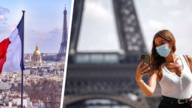 Photo of Франция открывается для привитых туристов: названы страны